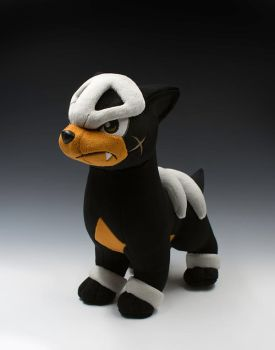 Houndour Plush by caffwin