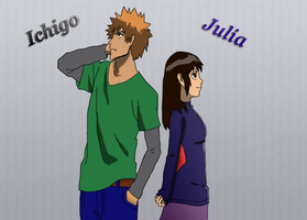 Ichigo and Julia by Bronwe