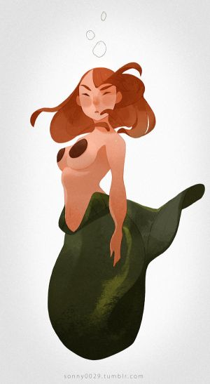 Mermaid Sketch_Dailies by Sonny0029