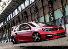VW Golf 6 GTI by thedesign05
