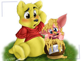 Oh bother.. by SuckerForDragons