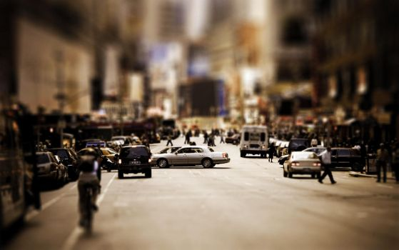 Tilt-Shift New York by Lagnar2010