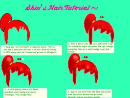 Shin's Hair Tutorial by Shin-zilla