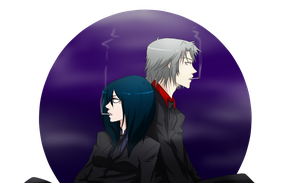 Commission #9: Namida and Gokudera by ImoExploder007