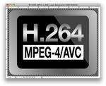 H.264 MPEG-4 AVC LOGO .psd by BullBoyKennels