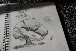 tree sketches III by thenextbest