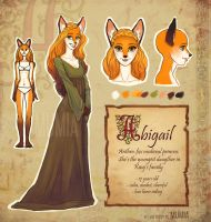 Abigail - anthro-fox princess by Mumium