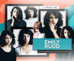 Photopack PNG - Emily Rudd #21 by MarinaDiaz2002