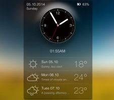 Daily Widget for xwidget by jimking