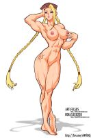Cammy Nude by Felsus by elee0228