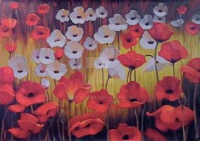 Pretty Poppies by ARTBOY0128