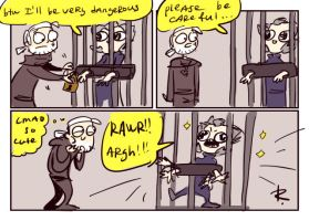 The Witcher 3, doodles 162 by Ayej