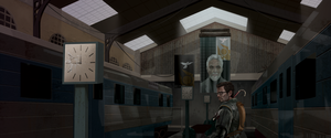 Half Life 2: Entering the Train Station by dcslider