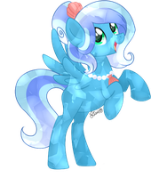 GIFT: Crystal Sea Drop by Azure-Art-Wave