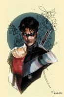 dick grayson by Peter-v-Nguyen