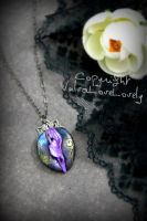 A Faery's Midnight Mischeeves: Vulva Necklace by VulvaLoveLovely