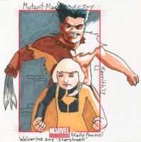 MM- Wolverine and Starstreak by KerrithJohnson