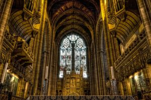 Liverpool Cathedral Inside by CharmingPhotography