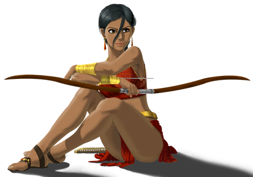 Farah from Prince of Persia by BlackBy