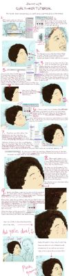 Curly Hair Tutorial by JennyWheat