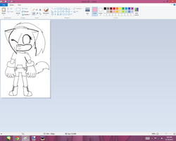 Sonic Drawing WIP by BlossomTehKat