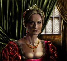 The last wife of Henry VIII by kserx
