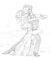 Zacharie and Sugar dance by Meammy