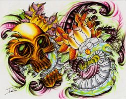 Snake And Skull Bio by ElTri