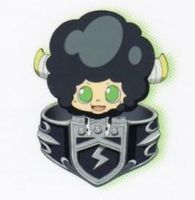 Lambo chibi with Vongola ring~ by VioletVermillion