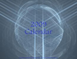 2009 Fractal Calendar by CaptainCheezmo