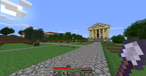 Minecraft Roman Temple (Preview) by NiegelvonWolf