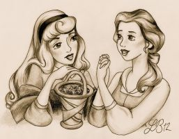 Briar and Belle by PermanentCarmine