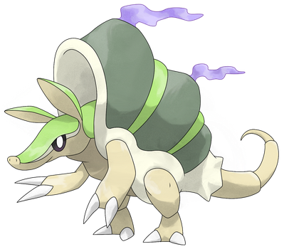 #003 Dillossus V2 by Smiley-Fakemon