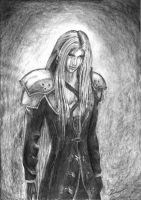 Sephiroth AdCh by UniverseQueen