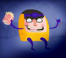 modok sees the avengers by hugeackman