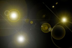 Lens Flares with a hue of yellow by marky1212