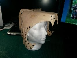 Armored Bear Helmet by PracticalApplication