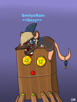 Emily and Octobob by Spywolfie3000