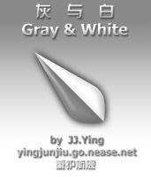 Gray and White by JJ-Ying