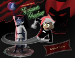 DP Title Card- Twisted Reality by DannyPhantomAddict