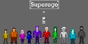Superego Pixel Cast by supajackle