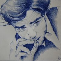 robert pattinson by maKo-art