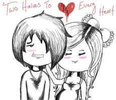 Two Halves To Every Heart by GrimKreaper
