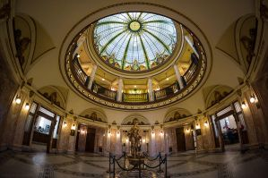 under the courthouse dome by bimjo