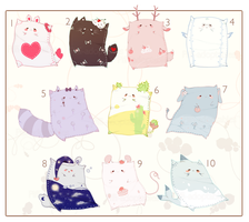 [CLOSED] ADOPT AUCTION 115 - Pet Pillow by Piffi-adoptables