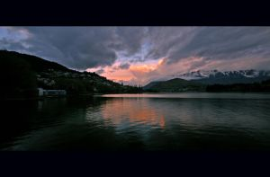 Lake Wakatipu, Queenstown NZ by Thrill-Seeker