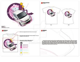 Honda Jazz T-Shirt Contest by 42nd