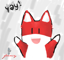 Yay by Red Fox by francy980