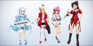 MMD Rio Band by ciripahn