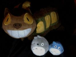 Totoro and Friends by YaoiTotoro